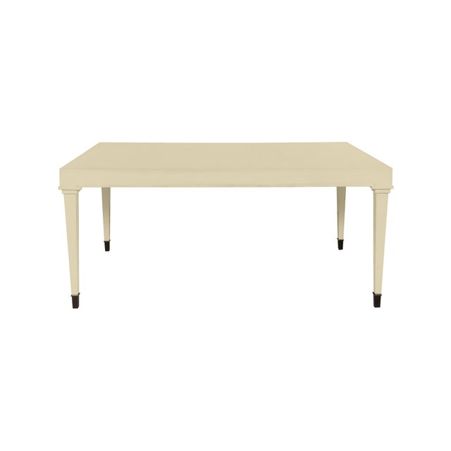 Traditional Casa Cosima Living Dalton Dining Table - Abingdon Putty For Sale - Image 3 of 3