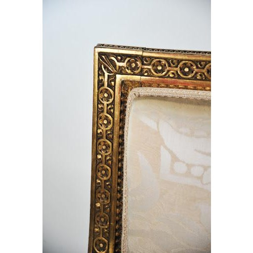 Gold Louis XVI Gilded Settee For Sale - Image 8 of 11