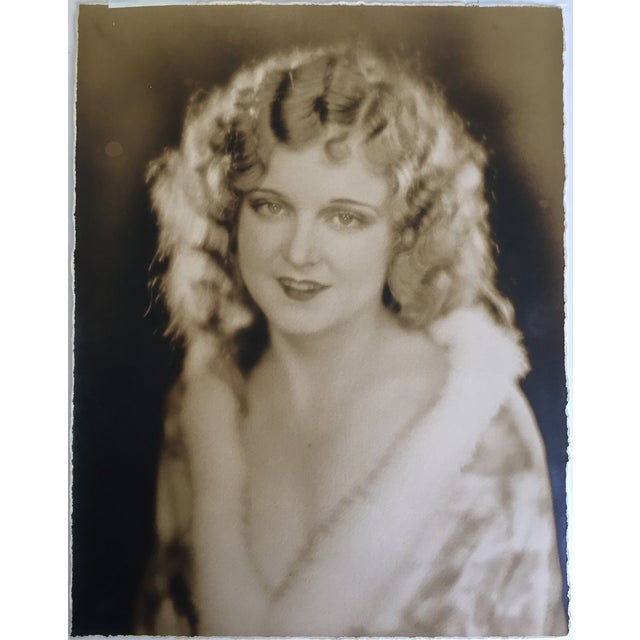 Original Edwin Bower Hesser Hollywood Starlet photo c.1920s. It is signed dated on verso and comes matted unframed....
