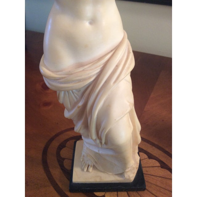 Antique White Vintage Arnoldo Giannelli Venus Recomposed Stone Sculpture For Sale - Image 8 of 12