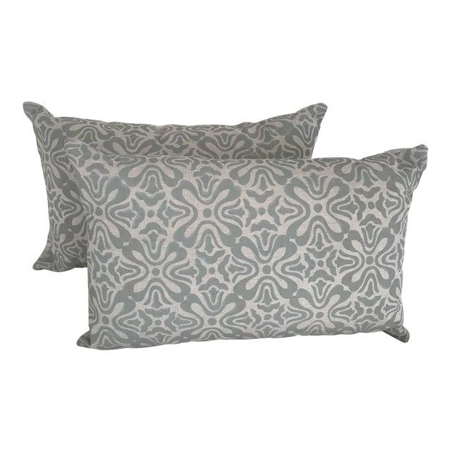 """Galbraith & Paul """"Tulip"""" Pillows - A Pair For Sale"""