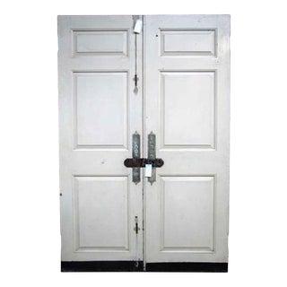 Mahogany Entrance Doors - A Pair