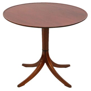 Frits Henningsen Pedestal Table For Sale