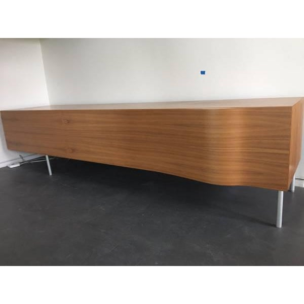 "Pallucco ""Breeze"" Italian Modern Walnut Credenza / Sideboard - Image 3 of 3"