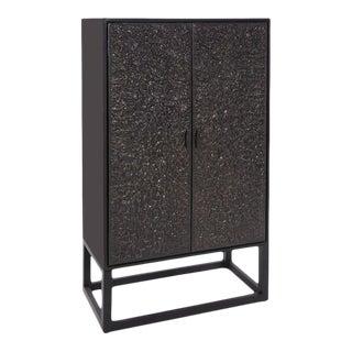 Kenneth Ludwig Chicago Glenn Tall Bar Cabinet For Sale
