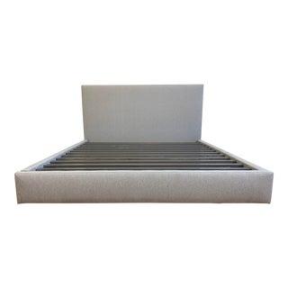 Eastern King Room & Board Wyatt Storage Bed For Sale
