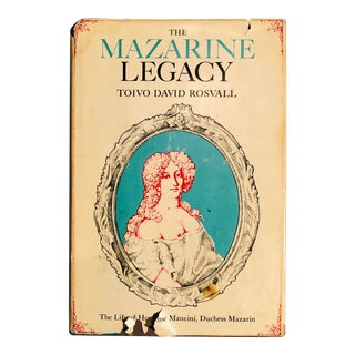 """1969 """"The Mazarine Legacy"""" First Edition Book For Sale"""