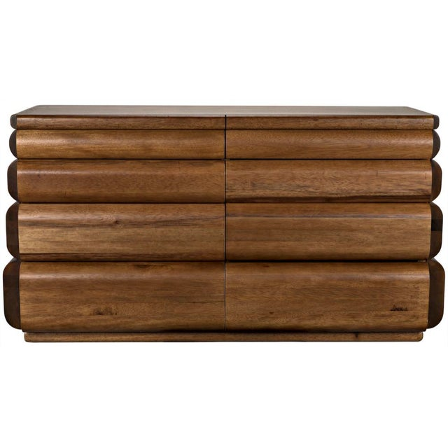 Contemporary Corinth Sideboard, Dark Walnut For Sale - Image 3 of 11