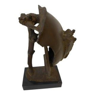 Bronze Sculpture by Abbott Pattison For Sale