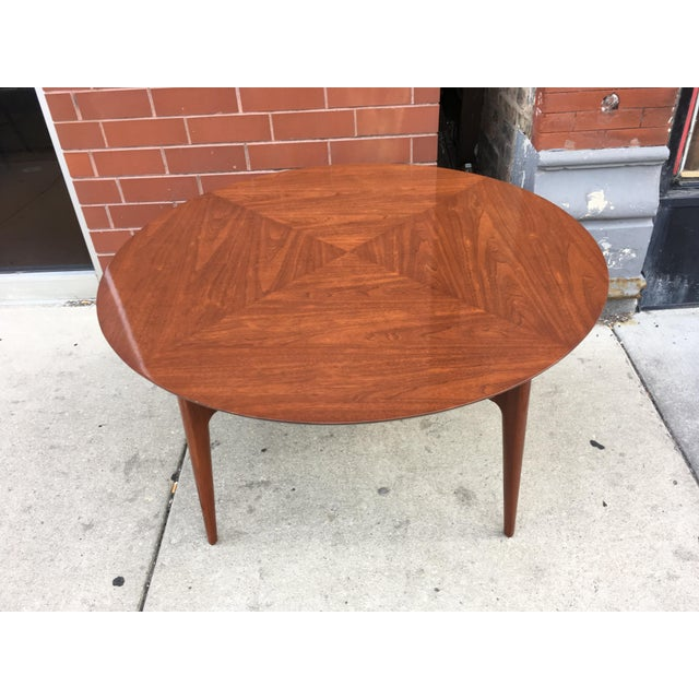 Mahogany Mid-Century Cocktail Table For Sale - Image 12 of 12