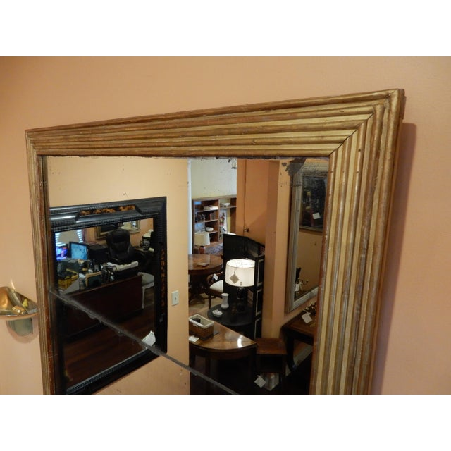 19th C. Directoire Gilt Mirror For Sale - Image 4 of 6