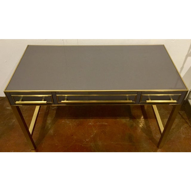 Contemporary Currey & Co. Arden Desk / Vanity For Sale - Image 3 of 7