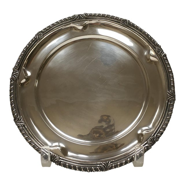 1950s Sanborn Sterling Silver Charger - Image 1 of 5