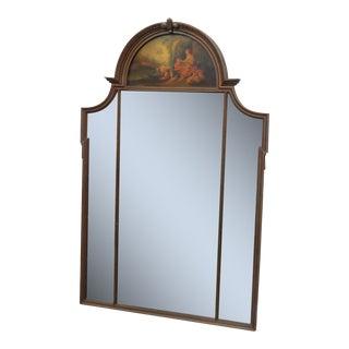 Louis XV Style Trumeau Mirror