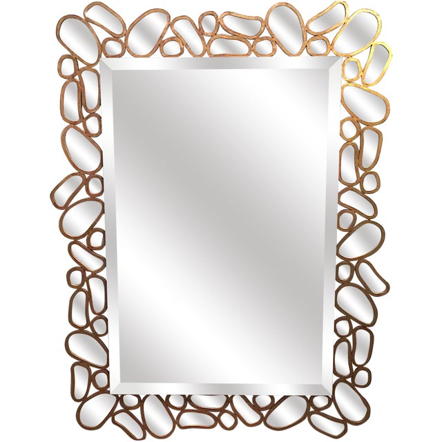 Transitional Mirror by John Richard - Image 1 of 5