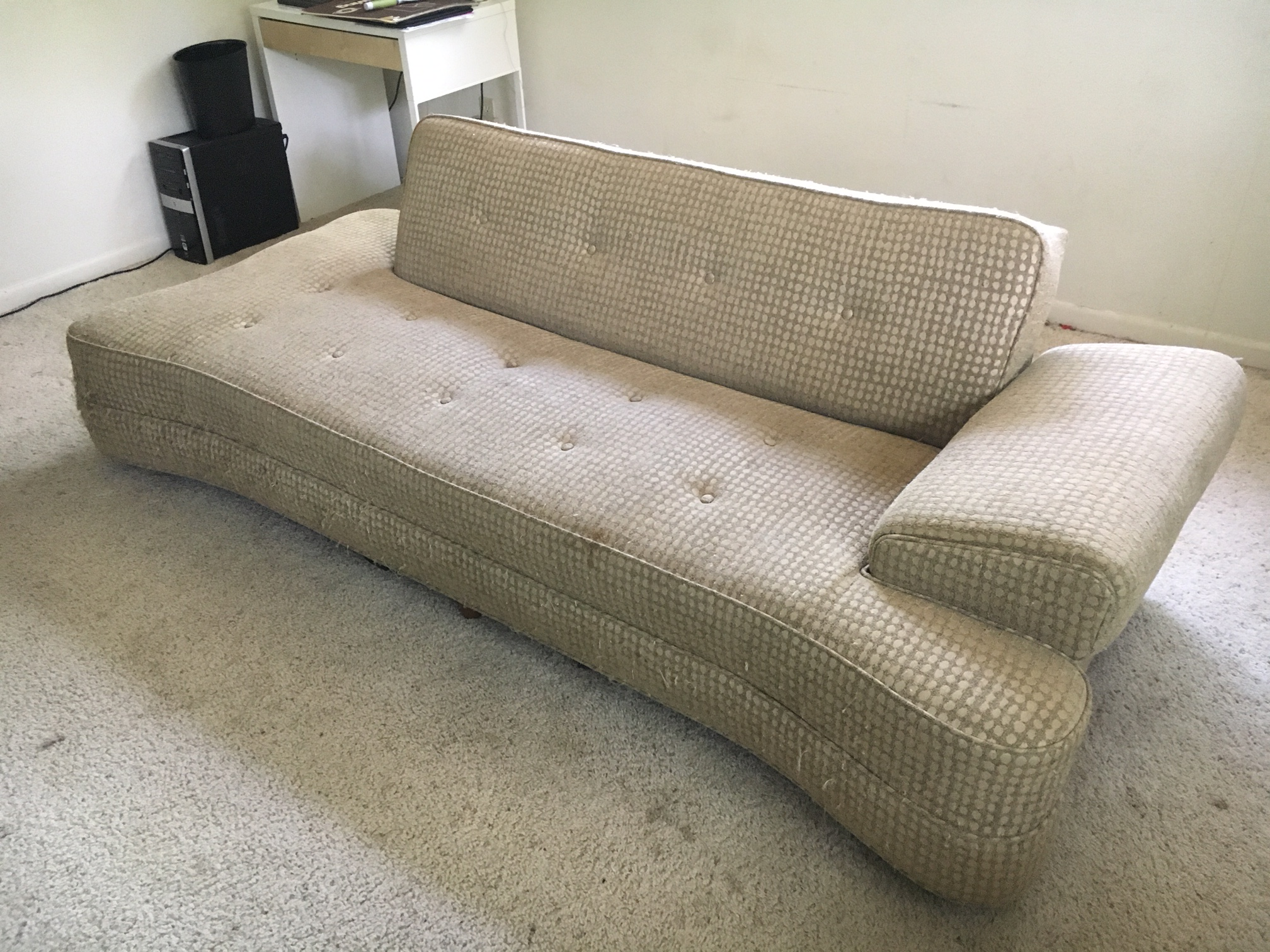 You Are Looking At A Rare 1950u0027s MCM Dog Bone Convertible Sofa. Everything  Works As. Mid Century Modern 1950u0027s ...