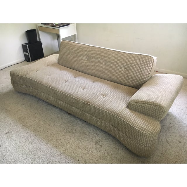 You are looking at a rare 1950's MCM Dog Bone Convertible Sofa. Everything works as it should. This is a great piece. It...