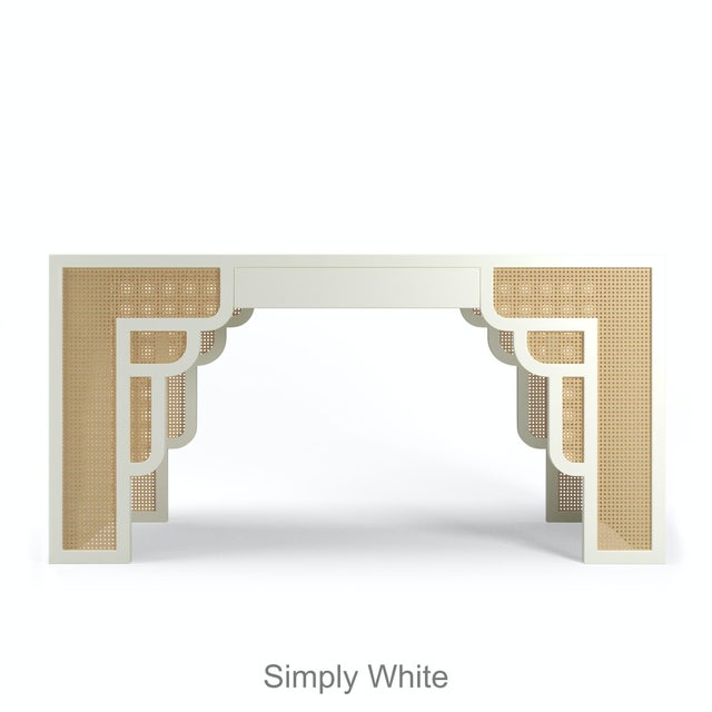 Habanera Console Table - Simply White For Sale - Image 4 of 5