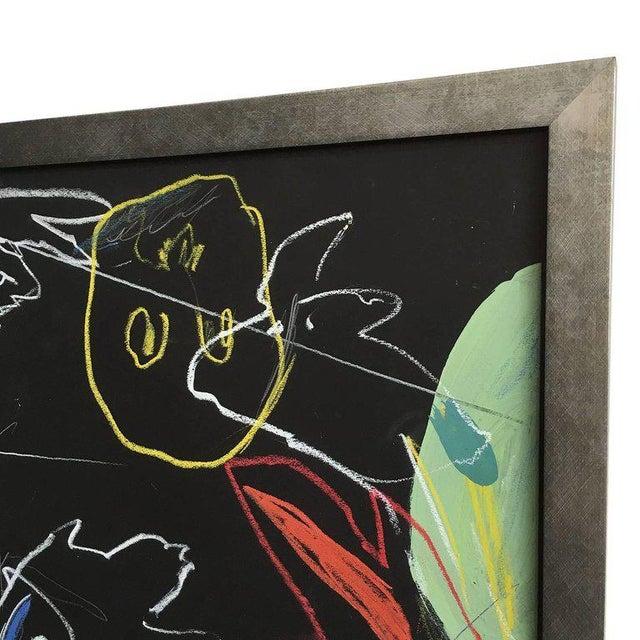 "James C. Harrison ""Underworld / Heavenly Baseball"" Framed Drawings For Sale - Image 10 of 11"