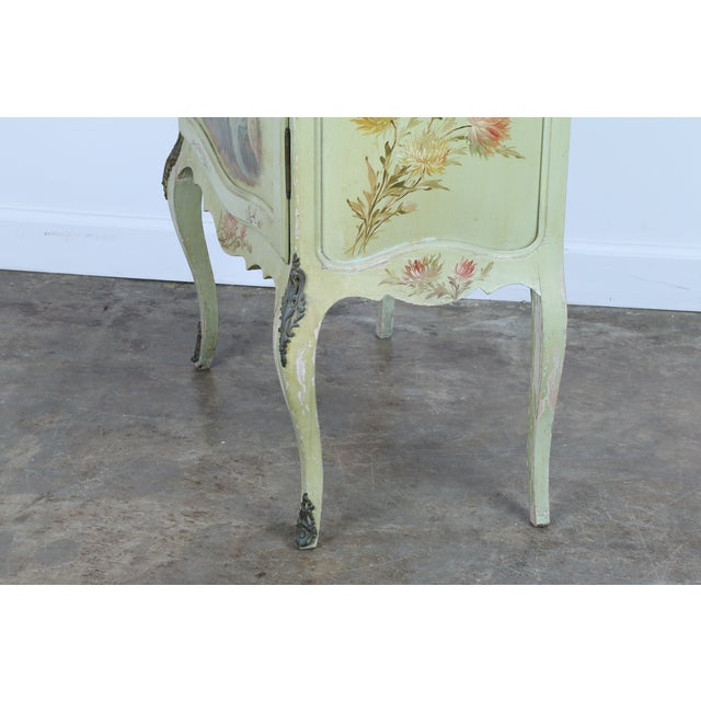 1920 French Style Hand Painted Cabinet - Image 7 of 11