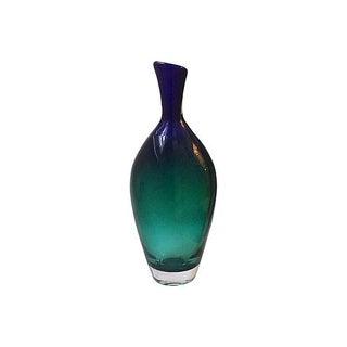 1950's Vicke Lindstrand for Kosta Boda Jewel Vase For Sale