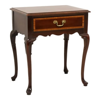 Hickory American Masterpiece Mahogany Bedside / End Table B For Sale