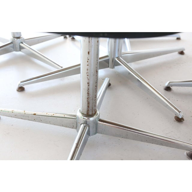 Metal 1970's Space Age Modern Smoked Lucite and Chrome Dining Set - 5 Pieces For Sale - Image 7 of 13