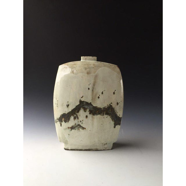 Contemporary Kang Hyo Lee, Bunching Flat Bottle, 2016 For Sale - Image 3 of 3