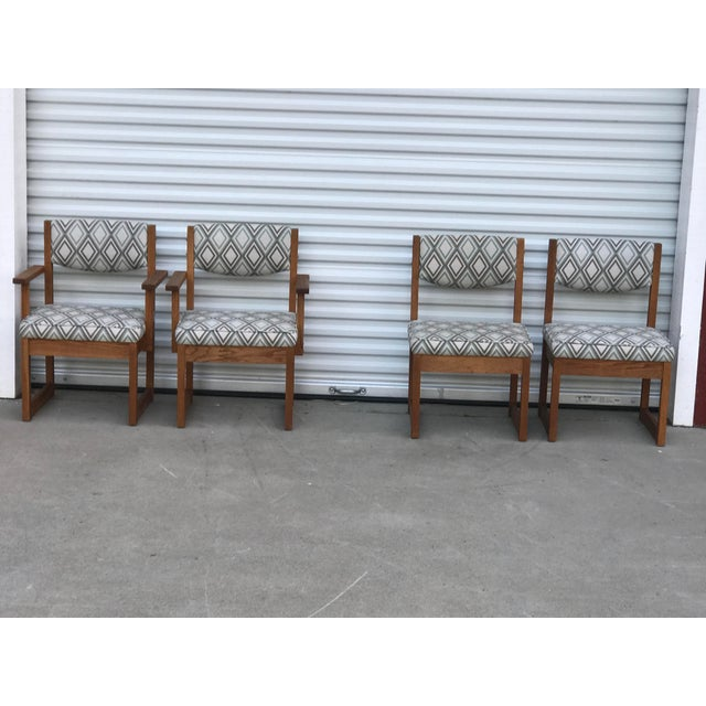 1970s Mid Century Drexel Heritage Dining Chairs- Set of 4 For Sale - Image 5 of 11