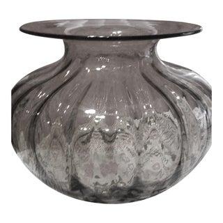 Large Amber Vase For Sale
