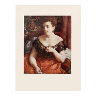 "1950s A. Renoir ""Portrait of Madame Portalis"" First Edition Photogravure For Sale"