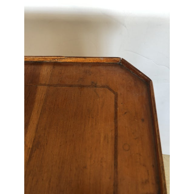 Wood 19th Century Biedermeier Side Table or Stand For Sale - Image 7 of 12