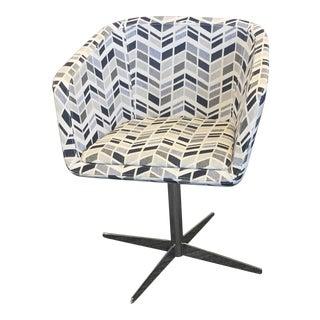 Gi Silhouette Swivel Chair For Sale