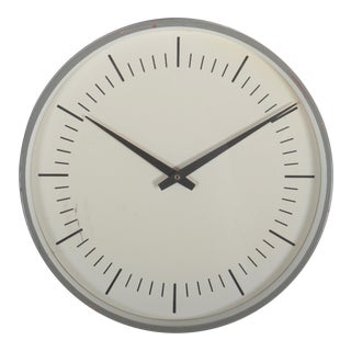 Mid-Century Wall Clock by Lm Ericsson For Sale