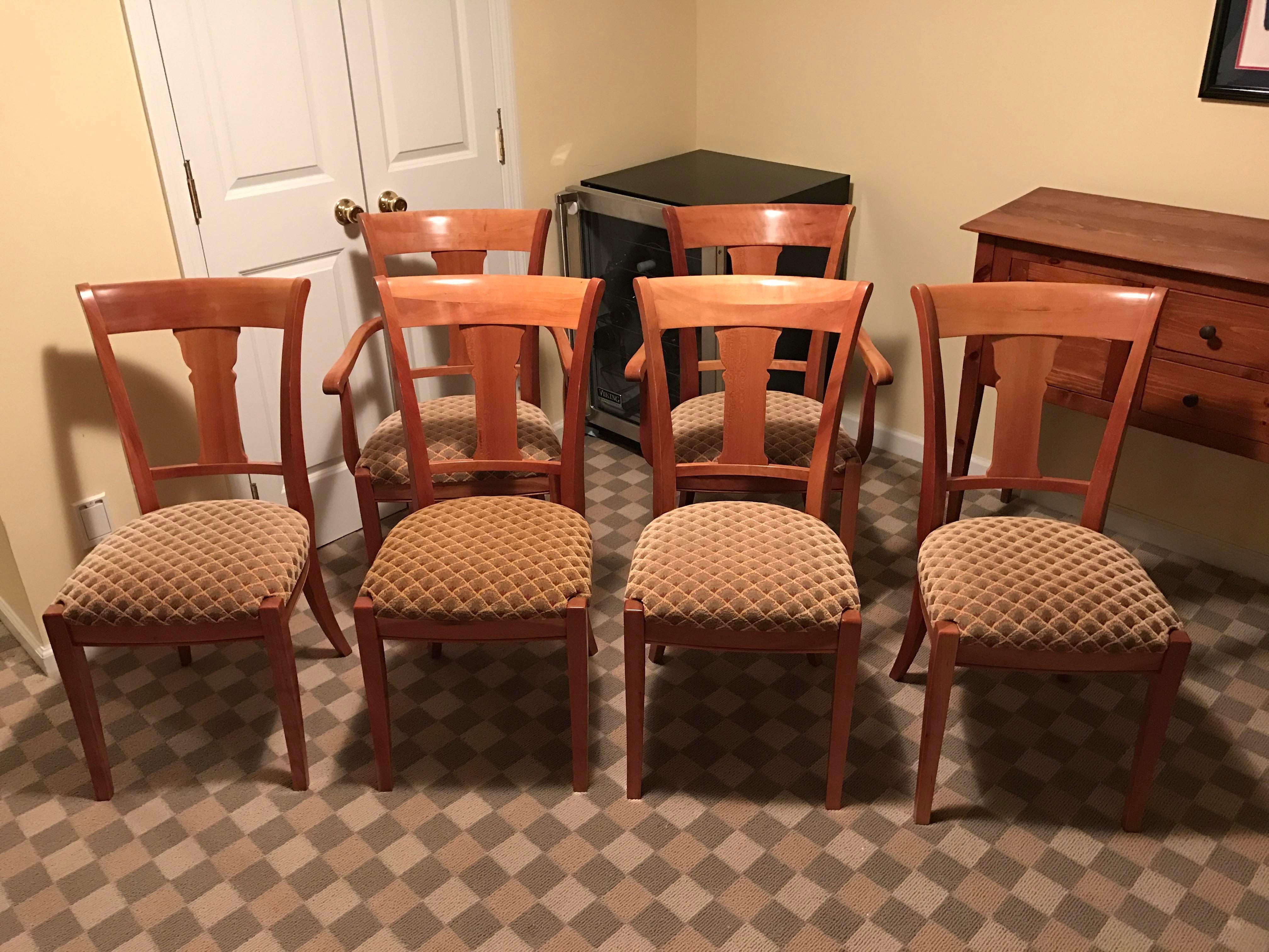 Grange Furniture Directoire Rochambeau Chairs   Set Of 6   Image 2 Of 11