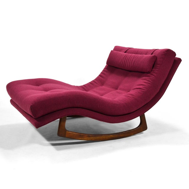 Adrian Pearsall Rocking Chaise by Craft Assoc. For Sale In Chicago - Image 6 of 10