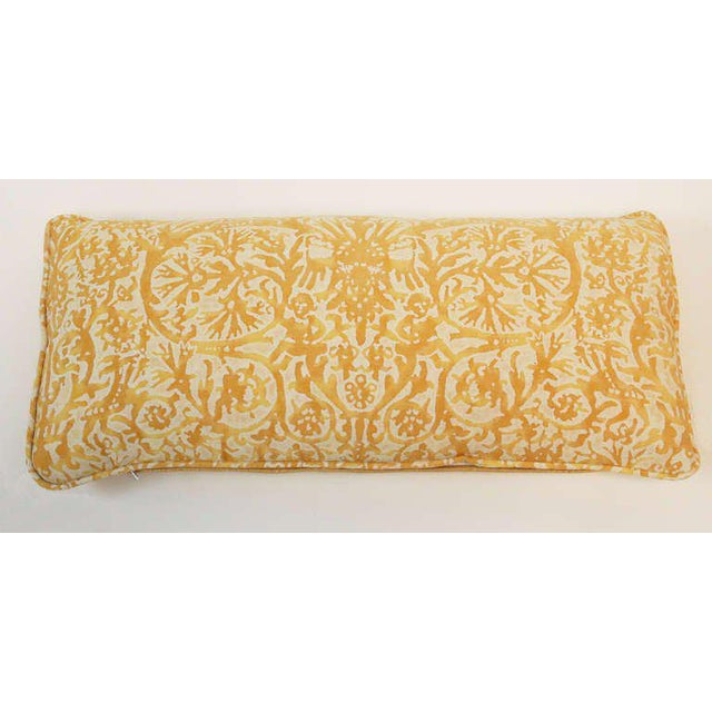 Mid-Century Modern Vintage Fortuny Pillows - Set of 4 For Sale - Image 3 of 5