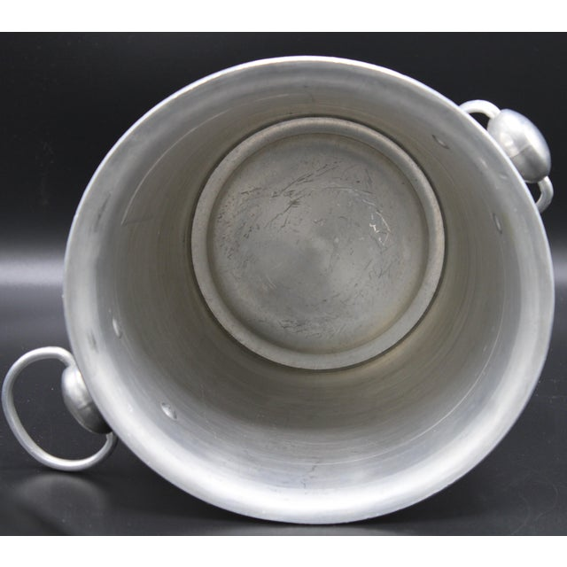 Vintage French Barancourt Champagne Ice Bucket For Sale - Image 6 of 13