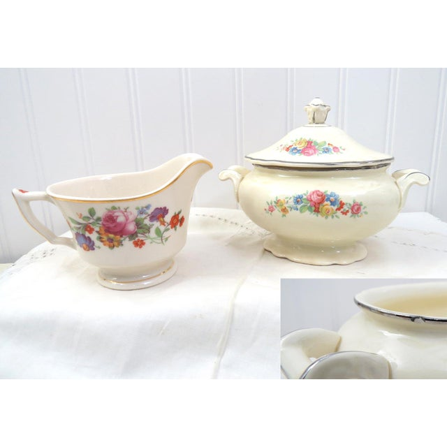 Vintage Mismatched China Dessert Set - 21 Pieces For Sale In Washington DC - Image 6 of 11