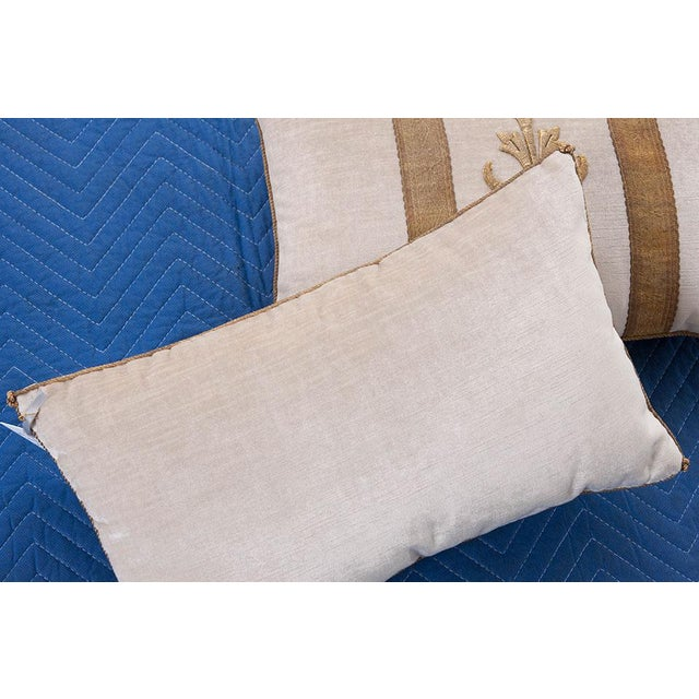 Antique Textile Pillows By B.Viz Designs - A Pair - Image 2 of 5
