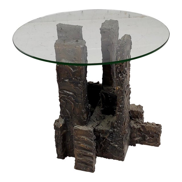 Adrian Pearsall Brutalist Small Coffee or Side Table For Sale