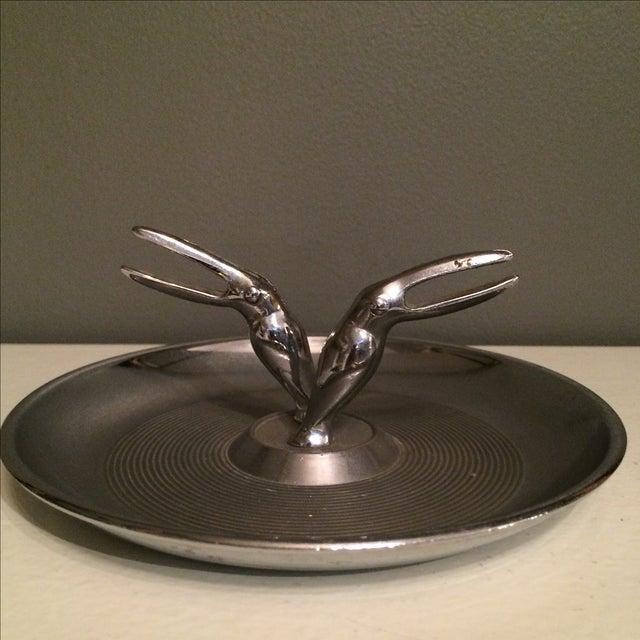 Hamilton Double Toucan Silver Ashtray - Image 2 of 5