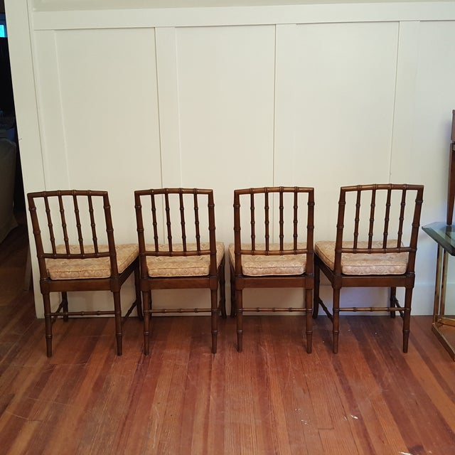 Kindel Chinese Chippendale Dining Chair - Set of 4 - Image 4 of 11