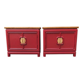 Thomasville Mystique Nightstands -A Pair For Sale