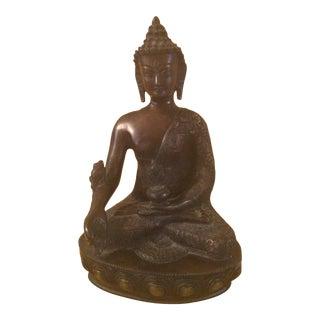 Asian Bronze Buddha Statue For Sale