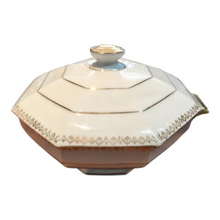 Art Deco Limoges Soup Tureen For Sale