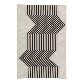 Nikki Chu by Jaipur Living Minya Indoor/ Outdoor Geometric Area Rug - 5′3″ × 7′6″ For Sale