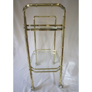 1970s Vintage Regency Tea Cart Preview