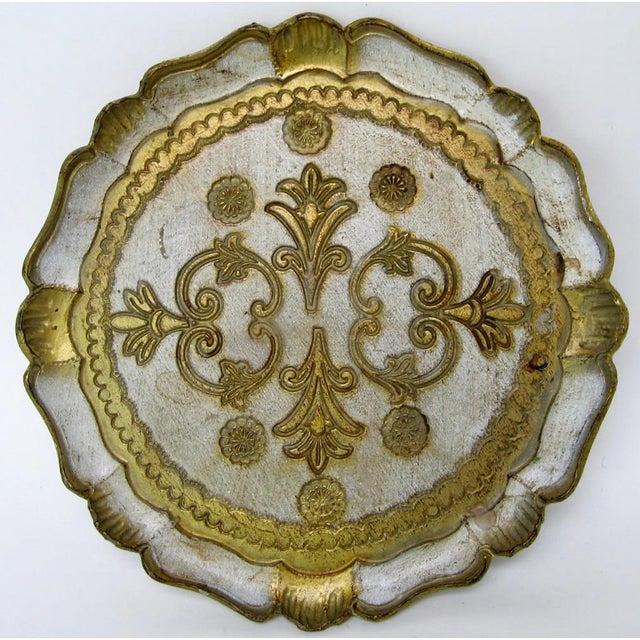 Florentine Wood Tray - Image 2 of 6