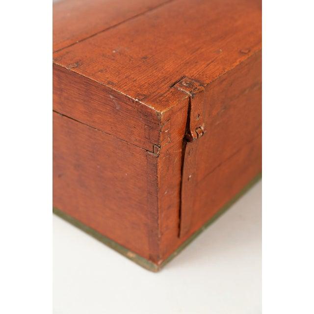Antique Upsala Swedish Marriage Trunk / Box - Image 5 of 7